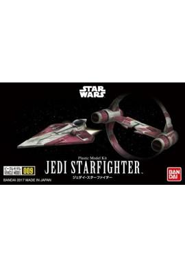 Bandai Star Wars Vehicle Model 009 Jedi Starfighter