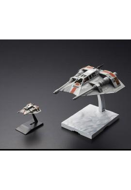Bandai Star Wars Bandai Star Wars Snowspeeder Set 1/48 & 1/144 Scale Plastic Model Kit