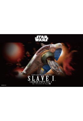 Bandai Star Wars Slave I (Jango Fett Ver.) 1/144 Scale Plastic Model Kit