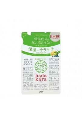 Azjatyckie kosmetyki Lion hadakara Body Soap Moisturizing Smooth Finish