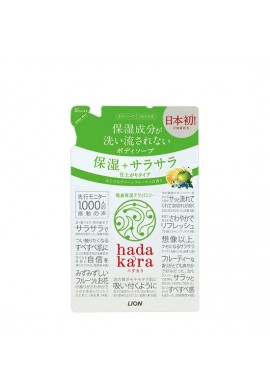 Lion hadakara Body Soap Moisturizing Smooth Finish