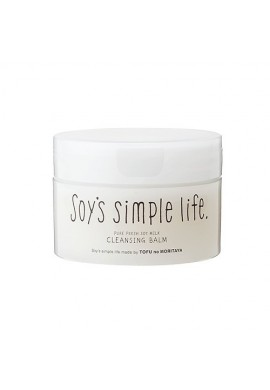Azjatyckie kosmetyki Tofu Moritaya Soy's simple life Pure Fresh Soy Milk Cleansing Balm