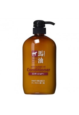 Kumanoyushi Kumano Horse Oil Non Silicon with Tsubaki Oil Conditioner