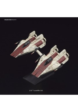 Bandai Star Wars Vehicle Model 010 A-Wing Starfighter