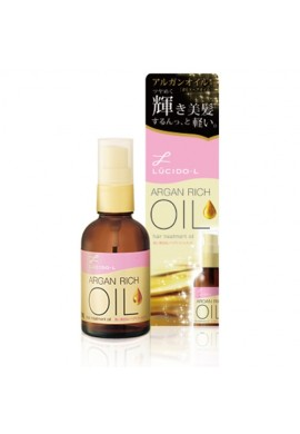 Azjatyckie kosmetyki Mandom LUCIDO -L Oil Treatment ARGAN RICH Hair OIL