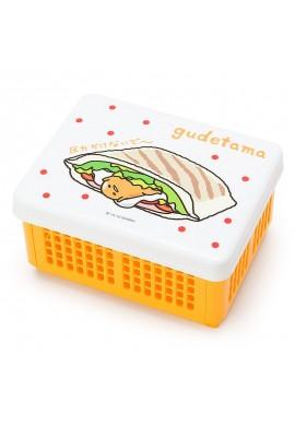 SANRIO Gudetama Sandwich Case that can be folded