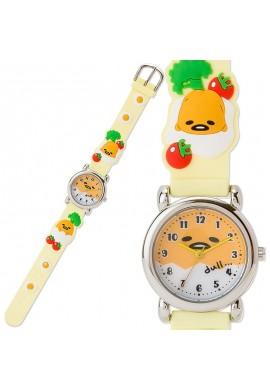 SANRIO Gudetama Rubber Watch (Tomato)