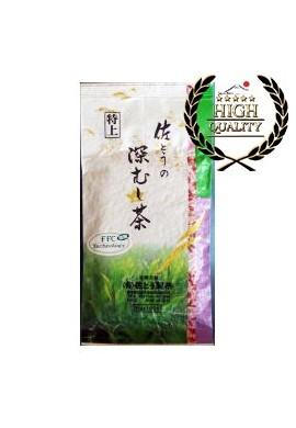 Azjatyckie herbaty Satouseicha Tokujyou Fukamushi Cha Middle Class Green Tea