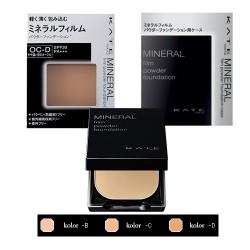 Azjatyckie kosmetyki Kanebo KATE Mineral Film Powder Foundation with Case
