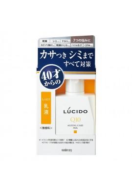 Azjatyckie kosmetyki Mandom Lucido MEN Medicated Q10 Ageing Care Milk