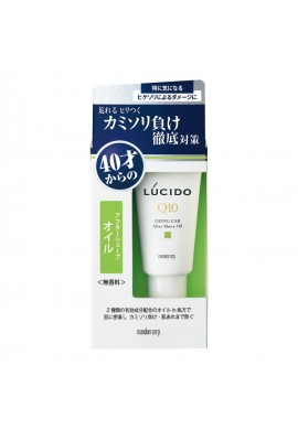 Mandom Lucido MEN Medicated Q10 Geing Car After Shave Oil
