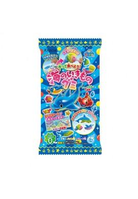 Japońskie słodycze Kracie Popin Cookin DIY Umi No Ikimono Gummy KIT