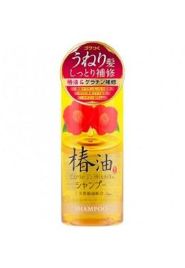 Cosmetex Roland Pure Virgin Repair Moist Shampoo with Tsubaki Oil