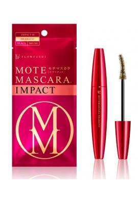 Azjatyckie kosmetyki FLOWFUSHI Mote Mascara Impact 01 Dramatic Black