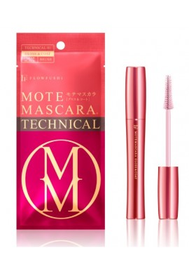 Azjatyckie kosmetyki FLOWFUSHI Mote Mascara Technical 01 Gloss & Coat