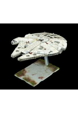 Bandai Star Wars Millennium Falcon /The Last Jedi/ 1/144 Scale Plastic Model Kit