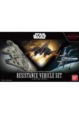 Bandai Star Wars Resistance Vehicle Set 1/144 & 1/350 Scale Plastic Model Kit