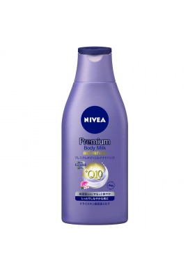 Azjatyckie kosmetyki NIVEA Premium Body Milk Advance Q10