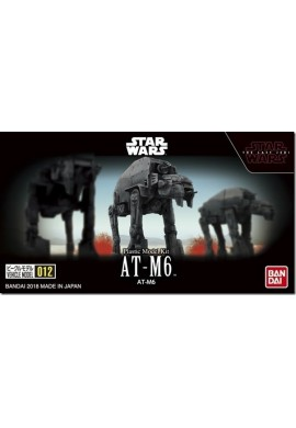 Bandai Star Wars Vehicle Model 012 AT-M6: The Last Jedi