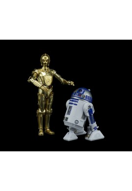 Bandai Star Wars C-3PO & R2-D2: The Last Jedi 1/12 Scale Plastic Model Kit