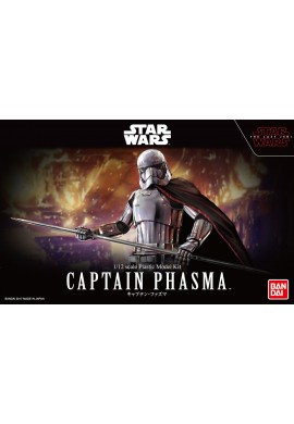 Bandai Star Wars Captain Phasma: The Last Jedi 1/12 Scale Plastic Model Kit