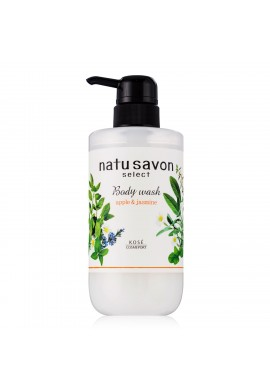 Kose Cosmeport Natu Savon Select Body Wash Moist Apple & Jasmine