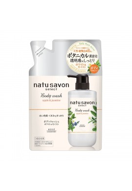 Kose Cosmeport Natu Savon Select Body Wash Moist Apple & Jasmine