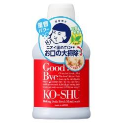 Ishizawa Good Bye Ko-Shu Baking Soda Fresh Mouthwash