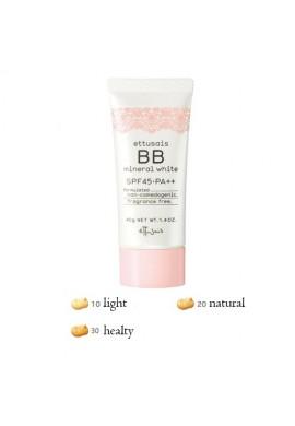 Azjatyckie kosmetyki Ettusais Mineral BB White SPF45 PA++