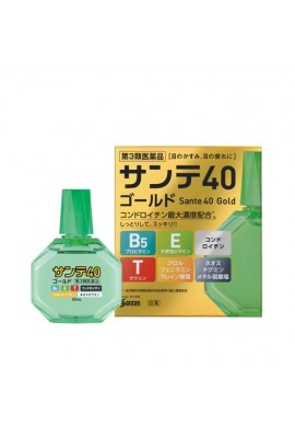 Santen Sante Medical 40 Gold Eye Drop
