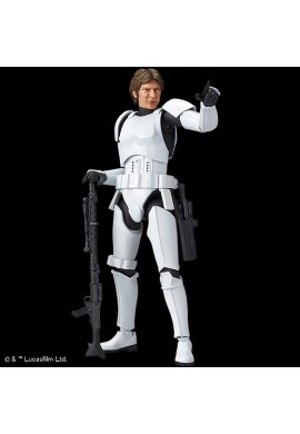Bandai Star Wars Han Solo Stormtrooper Ver. 1/12 Scale Plastic Model Kit