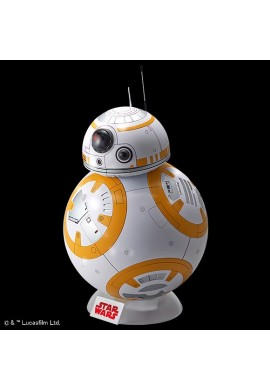 Bandai Star Wars BB-8 /Gloss Finish/ 1/2 Scale Plastic Model Kit