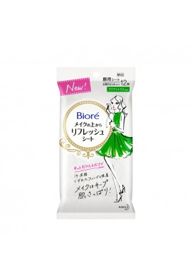 Kao Biore Makeup Refresh Sheet Aqua Citrus