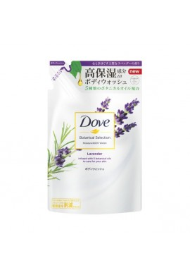 Unilever Dove Botanical Selection Moisture BODY WASH Lavender