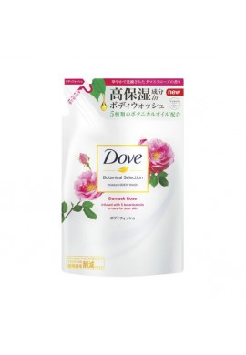 Unilever Dove Botanical Selection Moisture BODY WASH Damask Rose