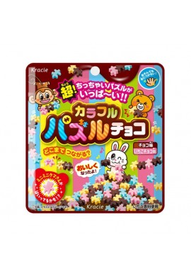 Kracie Popin Cookin Colorful Puzzle Chocolate