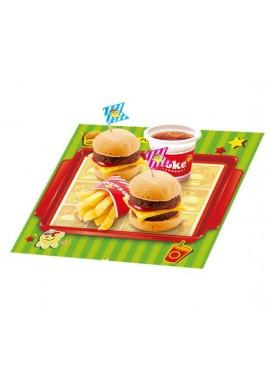 Japońskie słodycze Kracie Popin Cookin Happy Kitchen Hamburger & Fries Japana zjadam