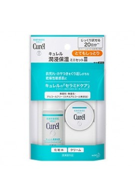 Kao Curel Medicated Face Care Moisturizing Mini Set III Moist
