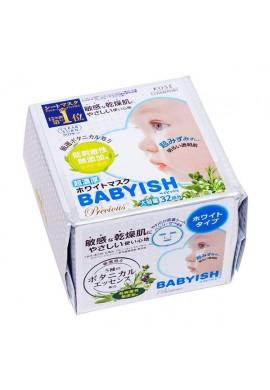 Kose Cosmeport CLEAR TURN BABYISH Precious Ultra-Rich Whitening Mask