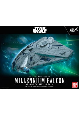 Bandai Star Wars Millennium Falcon /Lando Calrissian Ver./ 1/144 Scale Plastic Model Kit