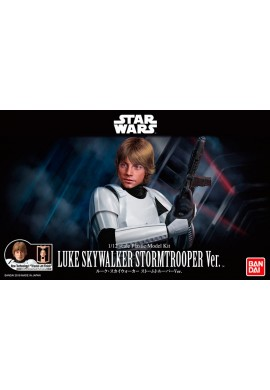 Bandai Star Wars Luke Skywalker Stormtrooper Ver. 1/12 Scale Plastic Model Kit