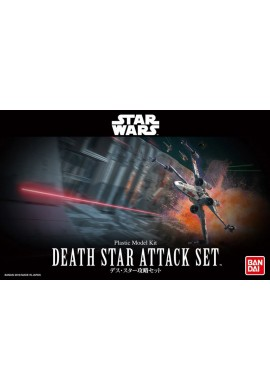 Bandai Star Wars Death Star Attack Set 1/144 Scale Plastic Model Kit