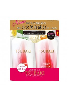 Shiseido Tsubaki Moist Shampoo & Conditioner Set