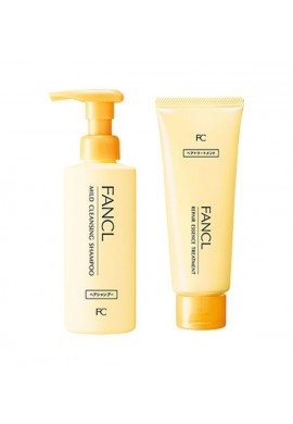 FANCL Mild Cleansing Shampoo & Repair Essence Treatment Set
