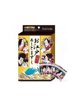Azjatyckie kosmetyki Pure Smile Japan Art Mask: Hoppehime, Momimaro, Benidayu, Horoemon