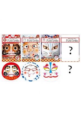 Azjatyckie kosmetyki Pure Smile Japan Art Mask: Daruma, Hyottoko, Kitsune, (Secret)