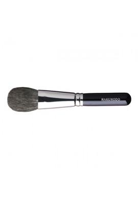 Hakuhodo B505 Blush Brush Round & Flat Black Long