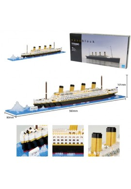 Kawada Nanoblock Advanced Hobby Titanic