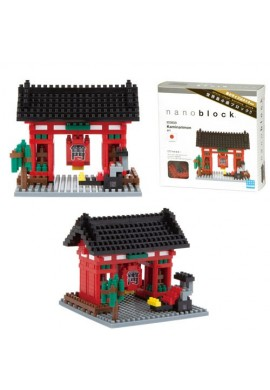 Kawada Nanoblock Sights to See Kaminarimon