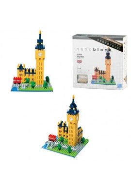 Kawada Nanoblock Sights to See Big Ben